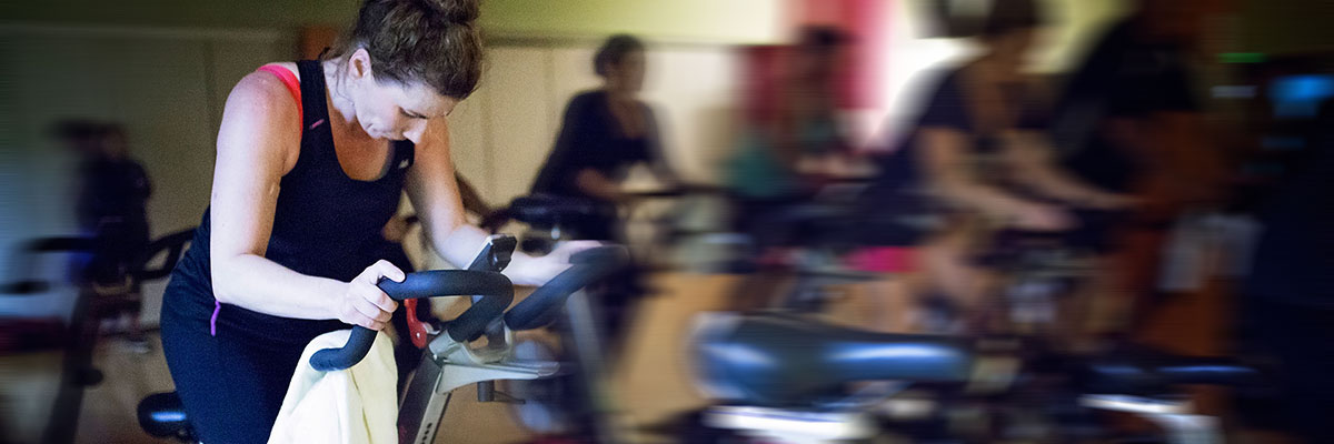 Spinning Class at West Hills Athletic Club