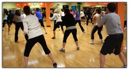 Group Kick at West Hills Athletic Club