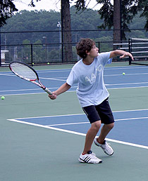 Junior Tennis at West Hills Athletic Club