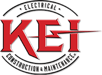 KEI Electrical Construction and Maintenance Logo