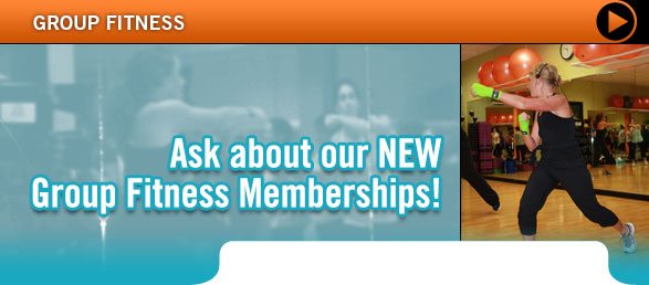 Group Fitness Membership Promotion