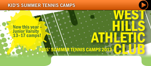 Kid's Summer Tennis Camps