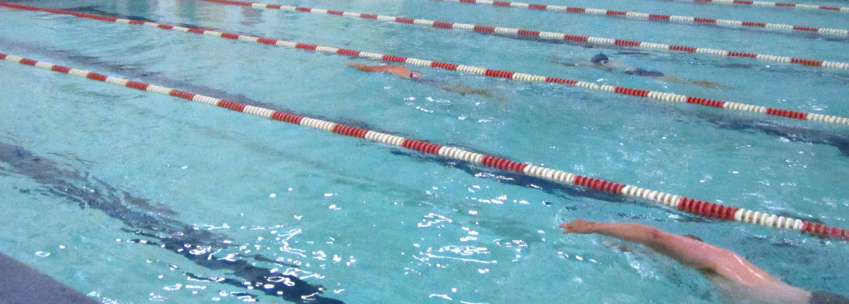 Lap swim at Gabel Natatorium
