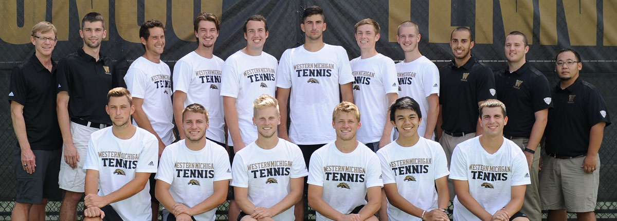 Photo of the Bronco Men's Tennis Team